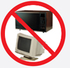 No appliances, tv's, computers, monitors, other electronic waste